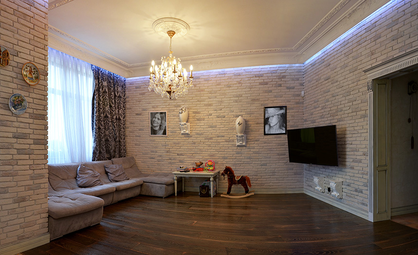 Ремонт однокомнатной квартиры 32 квм Москва